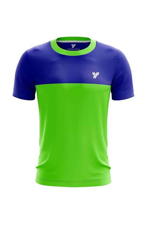 Футболка Young c17057 (Green/Blue)