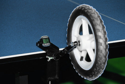 Тренажер имитации удара TSP Spin Wheel с тахометром