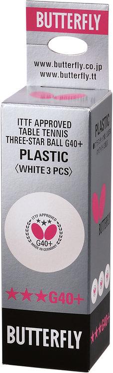 Пластиковые мячи от компании Butterfly. Одобрены Международной Федерацией Настол