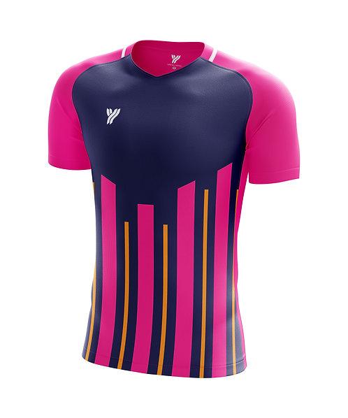 Футболка Young с18002 (Purple/Pink)