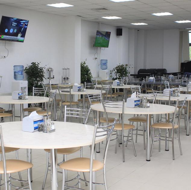 Столовая учебно-тренировочного центра (4