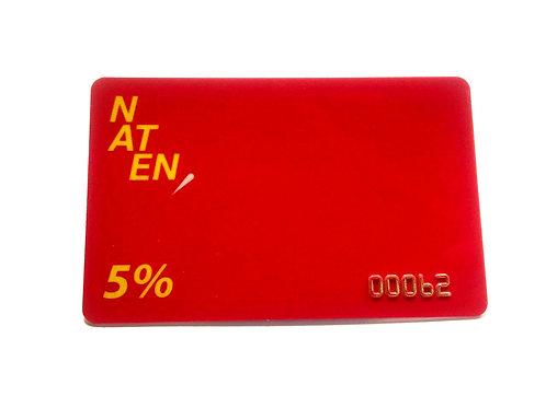 Скидочная карта 5%