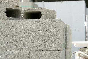Stack of Cinder Blocks