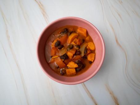 Vegan Yam & Bean Chili