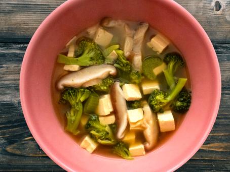 Tofu Veggie Soup