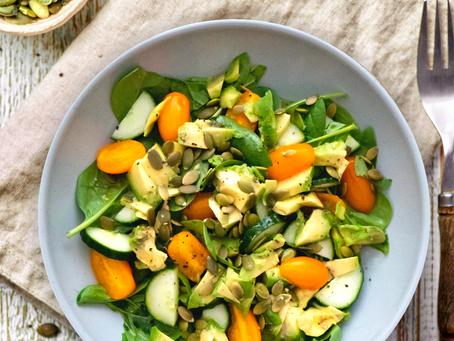 Easy Pumpkin Seed Salad