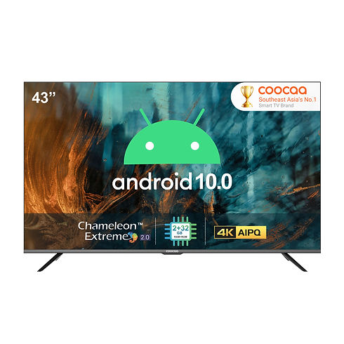 COOCAA NEW 43 Inch Android 10.0 Pro Seri