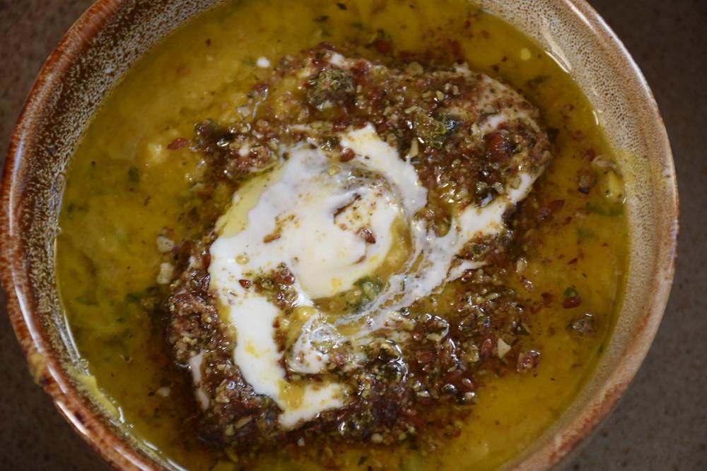 Simple red lentil soup