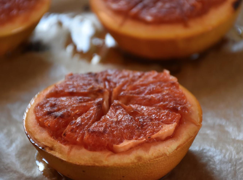 Roasted Grapefruit