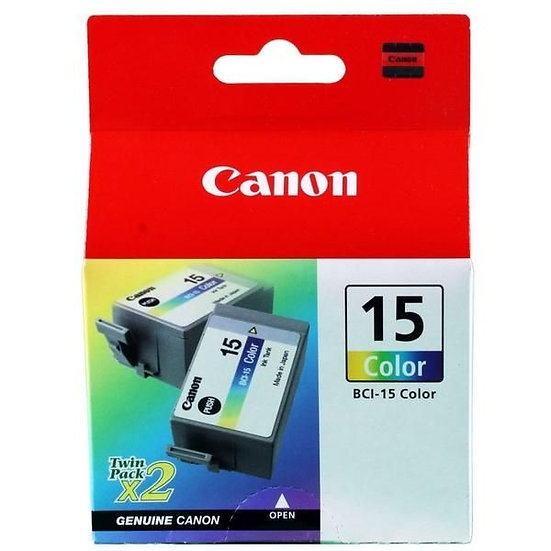 Canon Bci-15 Colour (2 Pcs/Box) Cartridge