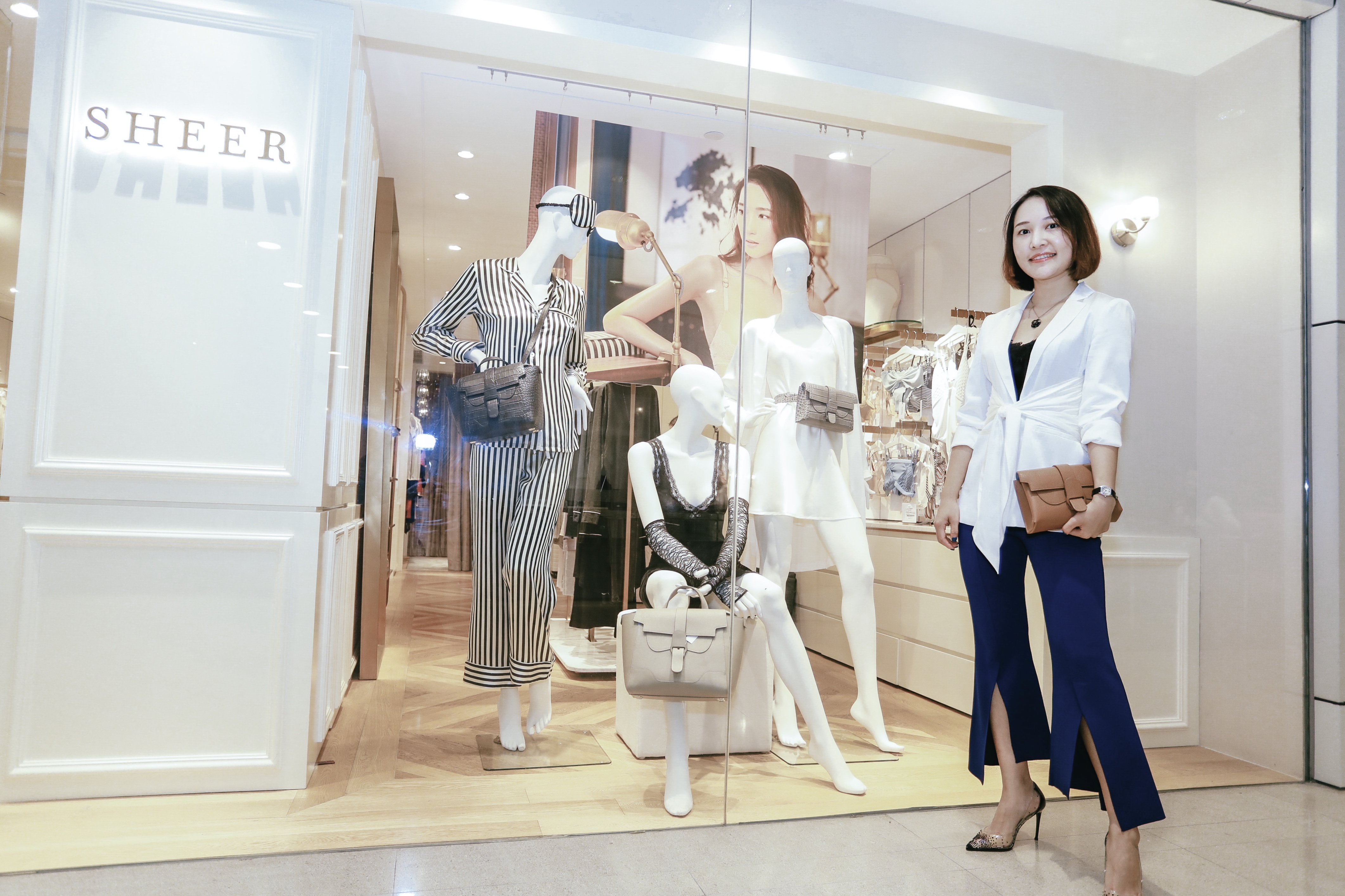 SENREVE x SHEER @ Landmark, HongKong