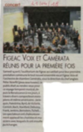 FigeacVoix et Camérata réúnis pour la première fois