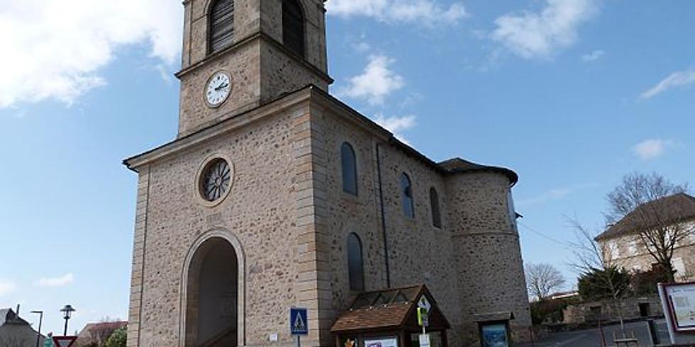 Lanuéjouls - L'Eglise Saint Baudile