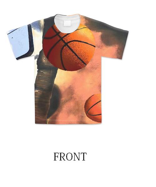 Landscape With Basketflies T-shirt