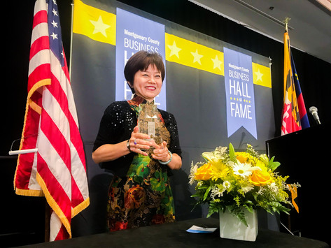 DSFederal's Sophia Parker inducted into Montgomery County Business Hall of Fame