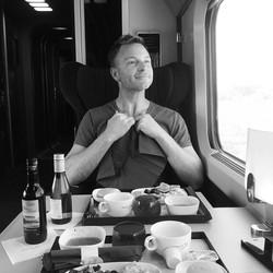 On the train to the next adventure - see you later France, you were stunning! Hello Amsterdam, can't