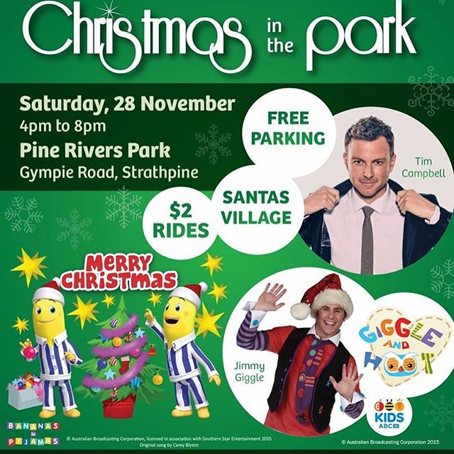 BRISBANE_ looking forward to a great outdoor Xmas concert on Saturday at Pine Rivers Park! This will