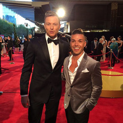Another great #TVWeekLogies last night, the first with the new husband