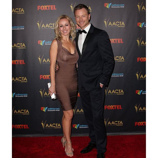 Great night celebrating Aussies in international cinema at the _aacta awards in Hollywood with my #w