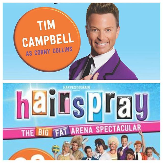 Can not wait to join the cast of _hairsprayarenaspectacular for the remaining rehearsals next week