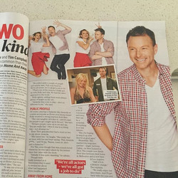 Make sure you check out _tvweekmag Extra this week, where _hollybrisley and I had a very fun catch u
