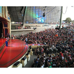 Rehearsals done for Carols By Candlelight - in front of many thousands