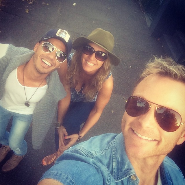 Three ratbags out on the town! #schoolnightcocktails _earthangelpantry _anthonycallea