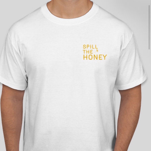 Spill the Honey Tee (White)