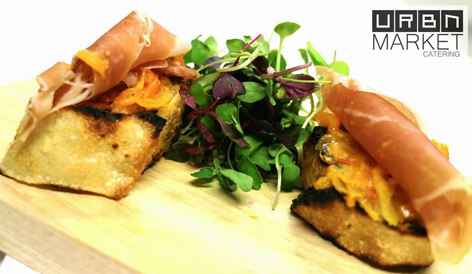 Pan con Tomate Tapas w/ Serrano Ham