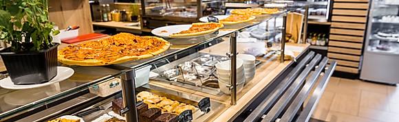 Ukázka nabídkových jídel v bistru