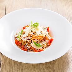 Těstoviny s rajčaty