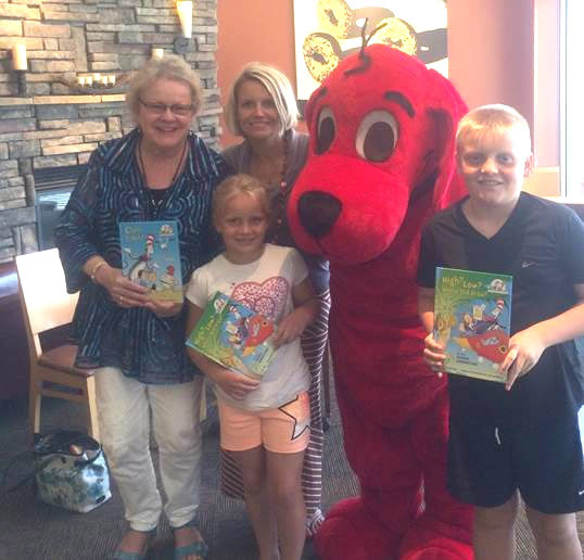 AUTHOR EVENT AT PANERA BREAD RAISED $500 TO BENEFIT REACH OUT AND READ CONNECTICUT