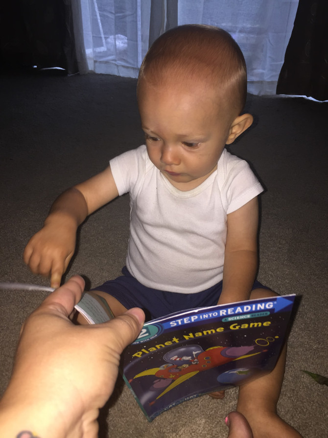 Boy Loves New Space Book