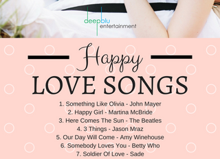 Happy Love Songs for Your Wedding Reception