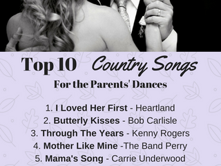 Top 10 Country Songs for the Parents' Dances