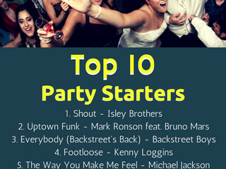 Top 10 Party Starter Songs of 2016