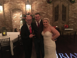 The Memphis Wedding DJ Times: Larianne & Brian Mills | Cedar Hall | November 4, 2016