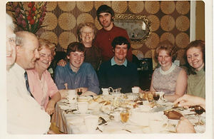 Bill at a family gathering in 1966