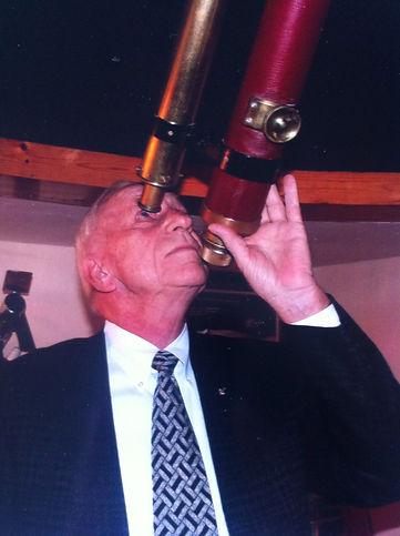 Apollo 15 Astronaut, Al Worden, visits Airdrie Observatory Scotland as part of Walk With Destiny event 2011
