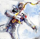 Bill Gilpin, Astronaut Painting