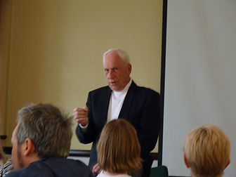 Apollo 15 Astronaut, Al warden at a Q&A Session at the Glasgow Marriott Hotel at Walk With Destiny event 2011