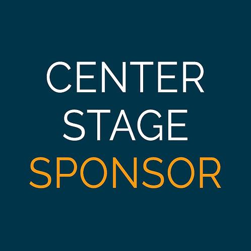 Center Stage Sponsor