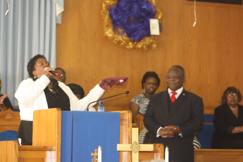 Dr. C Holsey Monumental Pastor