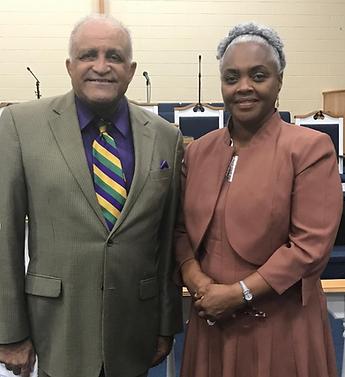 Rev. Carlton Mahone, Sr. and First Lady
