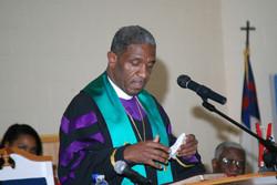 Bishop Carter at Holsey Monumental