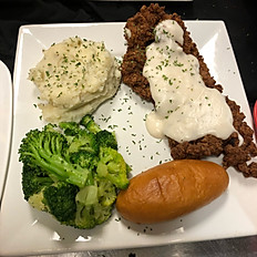COUNTRY FRIED RIBEYE STEAK*