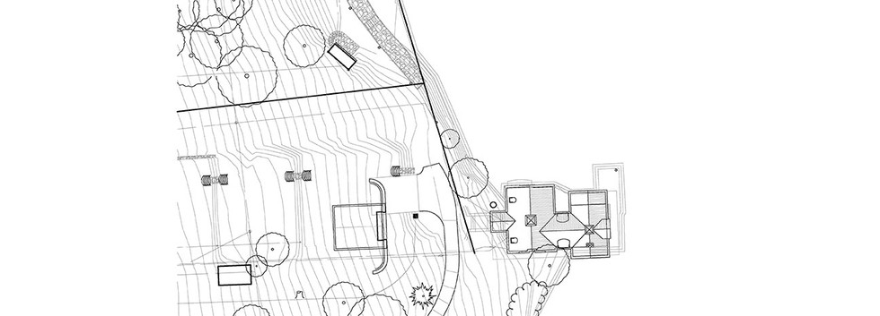 Site Plan Skaneateles Boat house Arts & Crafts_Ramsgard
