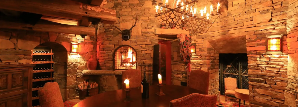Savanah Dhu Wine Cellar Hunting Lodge Adirondack_Ramsgard