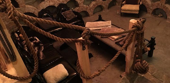 Leary Castle Wine cellar _Ramsgard