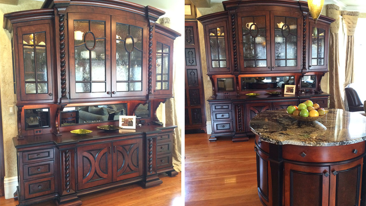 buffet and island italianate grand estate skaneatles _Ramsgard
